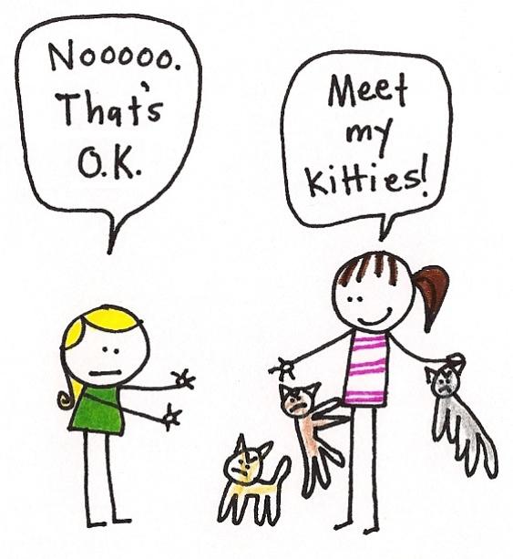 lori's cats: cute, but evil!
