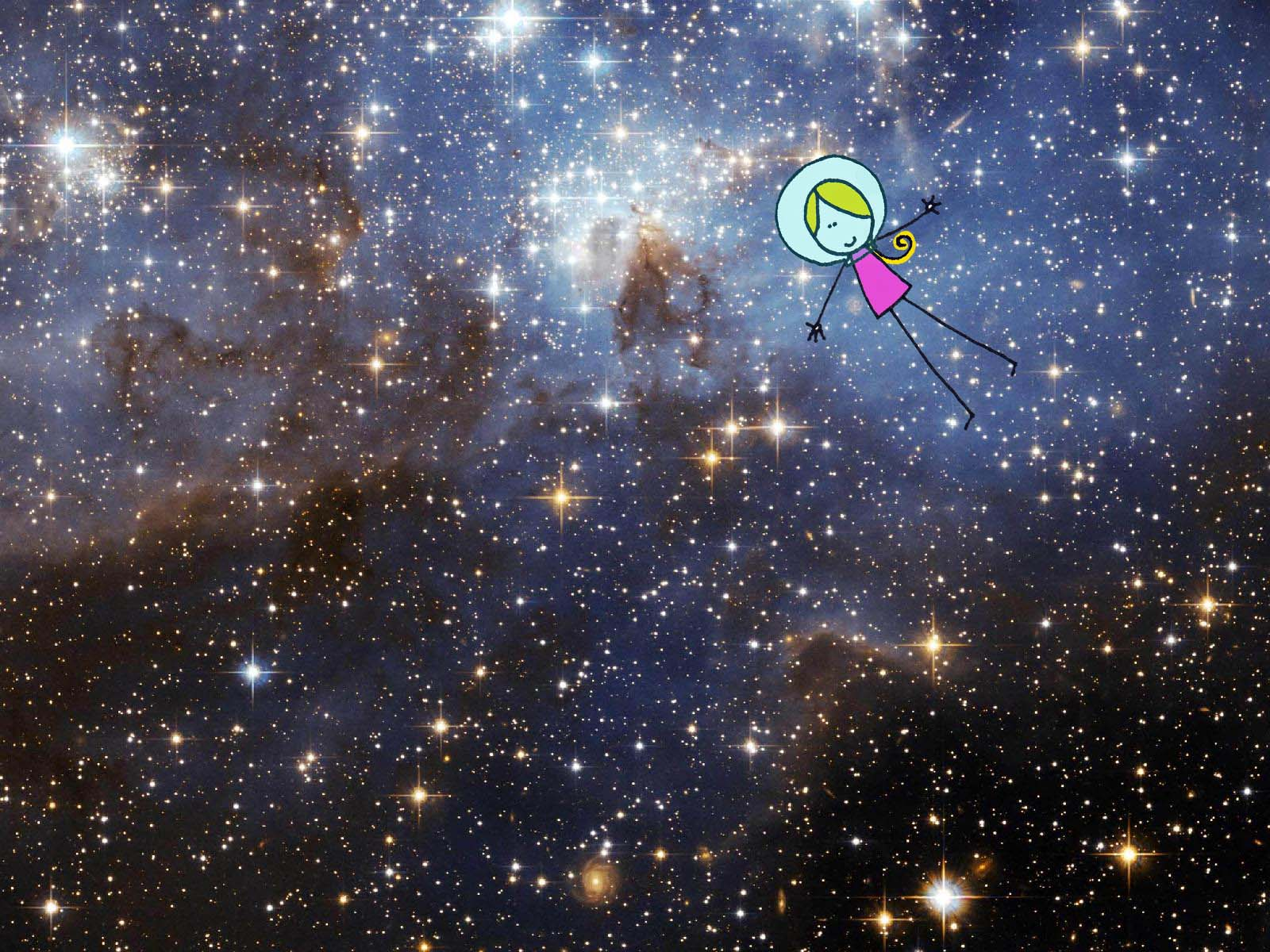 outer space seems like real cool relaxing cocoa likes this